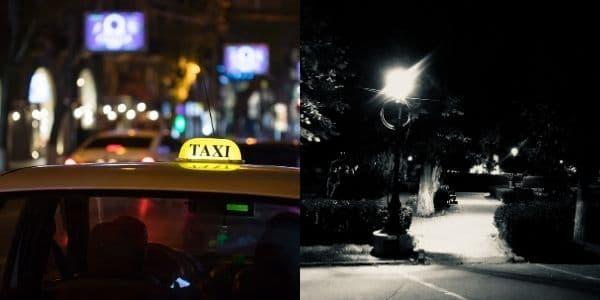 Symbolbild Taxi oder Park